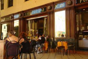 Cafe Piccaro Café i Ligurien