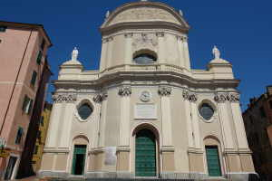La Collegiata Insigne di San Giovanni Battista Kirker i Ligurien