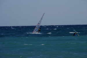 Ponterosso Windsurf Center surfskole i Ligurien