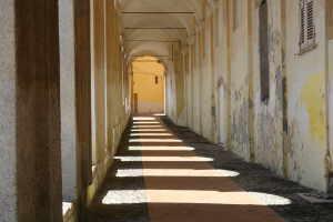 Logge di Santa Chiara Kirker i Ligurien