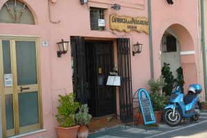 Osteria del Pescatore Restauranter i Ligurien