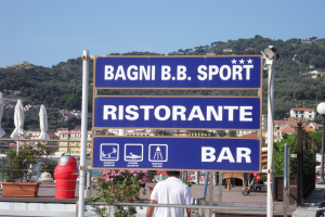 Bagni B.B. Sport Strande i Ligurien
