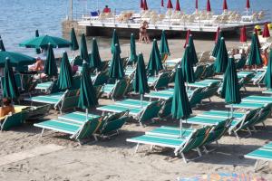 Bagni Angelo Strande i Ligurien