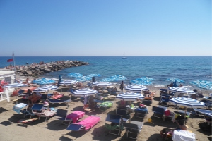 Bar Ristorante Rio Sol Strande i Ligurien