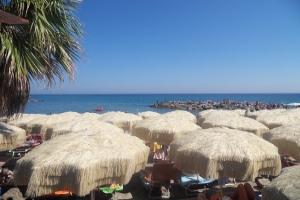 Baia Salata Strande i Ligurien