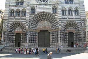 Museo del tesoro delle cattedrale San Lorenzo Museer i Ligurien