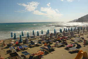 Bagni Rio Sol Strande i Ligurien