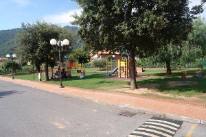 Ortovero Playground in Liguria