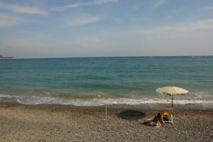 Bagni La Vedetta Strande i Ligurien