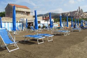 Bagni Tosco Strande i Ligurien