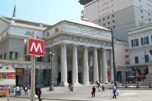 Teatro Carlo Felice Theatre i Ligurien